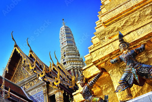 Fotobehang Bangkok Grand Palace in Bangkok,Thailand