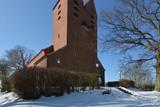 Kirche in Göhren auf Rügen im Winter - 194915030