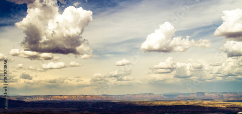 Aluminium Arizona Arizona landscape in the summer