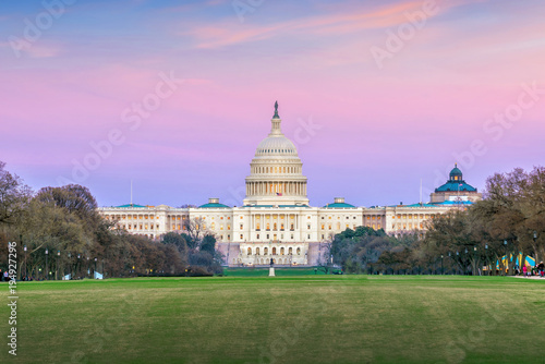 The United States Capitol building DC