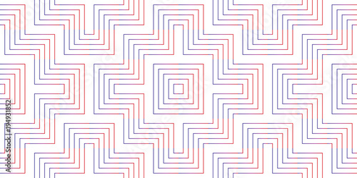 Pattern geometric gradient colorful line chevron seamless design abstract background texture. - 194931852