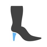 Long Boots Icon - 194940434