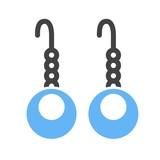 Earrings, beautiful, jewelry