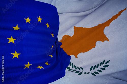 Fotobehang Cyprus Cyprus, European Union, EU