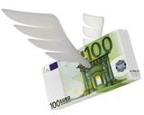 Geldscheine mit Flügel - 194965253
