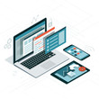 Web developing and coding