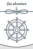 Sea Adventure, Vector Cordage Ropes Collection