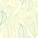 Leafy seamless background 7 - 194974037