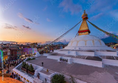 Papiers peints Buddha Bodnath Stupa, Kathmandu, Nepal