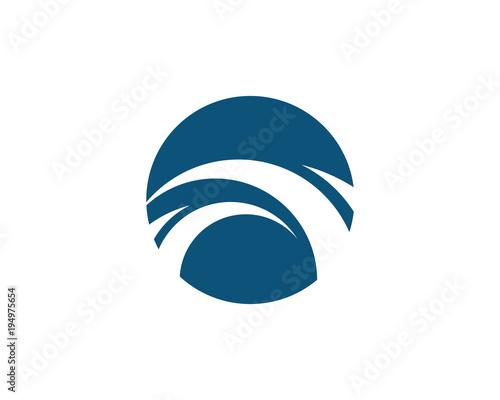 Bridge icon vector illustration Logo - 194975654