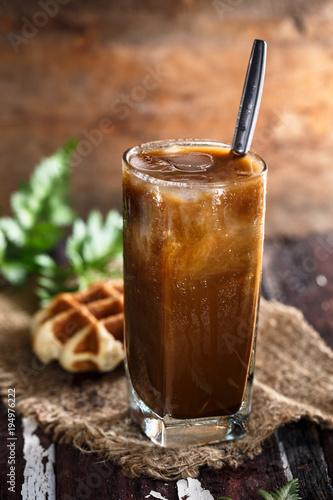 Café Glacé pour l'été ou Iced Coffee