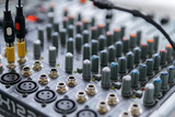 Professional sound engineer's console. Remote control for the sound engineer - 194977402