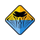 cobra snake sign symbol icon logo logotype template - 194998022