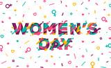 Women's Day Card Wall Sticker