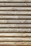 runde braune Holzalken, Hintergrund, Textur - 195008880