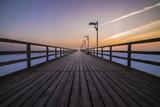 pier on winter
