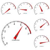 Manometer scales - 195022432