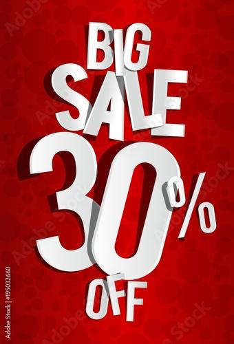 Creative Sale on background vector illustration