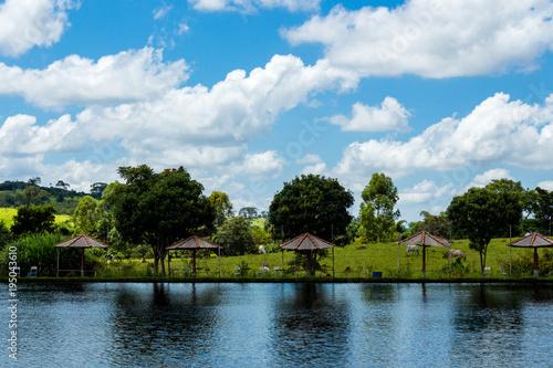 Aluminium Zomer lake