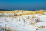 Strand in Warnemünde im Winter - 195048277