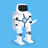Future Robot  Wall Sticker