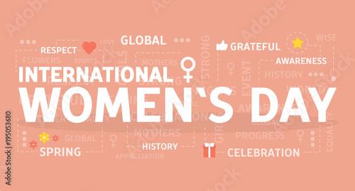 International womans day.