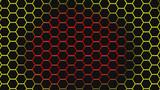Hexagonal background for design.
