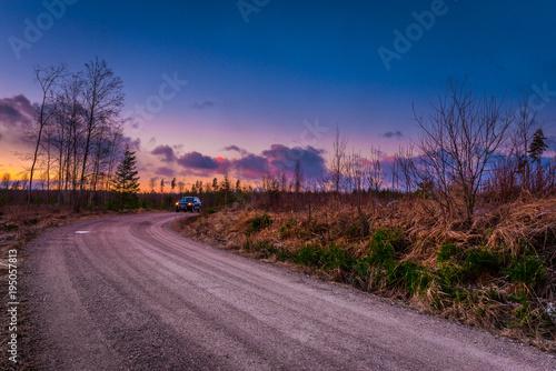 Aluminium Lavendel Sunset