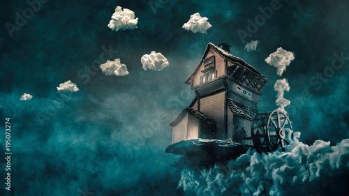Papiers peints Bleu vert Cloudmill