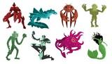 evil underwater sea monsters