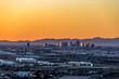 Phoenix Arizona City Overlook at sunset