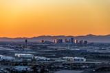 Phoenix Arizona City Overlook at sunset - 195091670