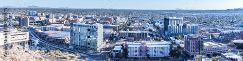 Aluminium Arizona Arizona State University city overlook