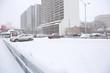 snow storm parking