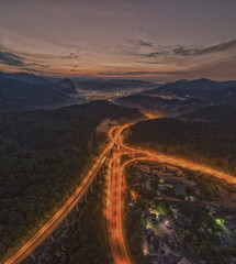 bypass highway at