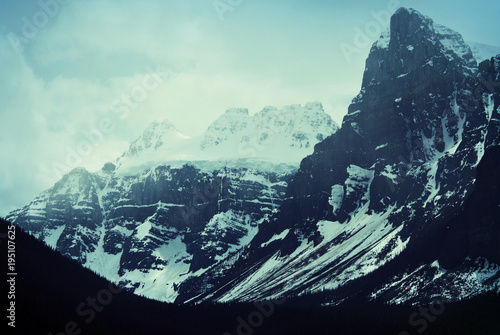 Fotobehang Galyna A. Mountains in Canada