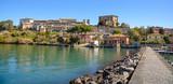 medieval town of Capodimonte on Bolsena lake, Italy - 195114678