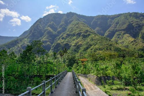 Staande foto Bali Mountain road in Bali, Indonesia