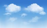 arrière-plan du ciel avec nuage