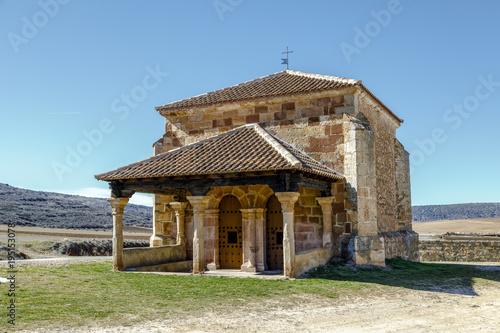 Romanesque chapel of La Soledad Palazuelos  Spain