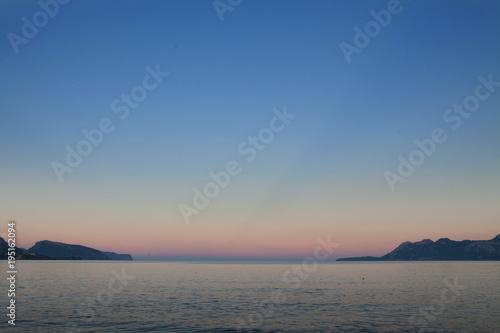 Staande foto Zee zonsondergang Palma de mallorca Sunset coast