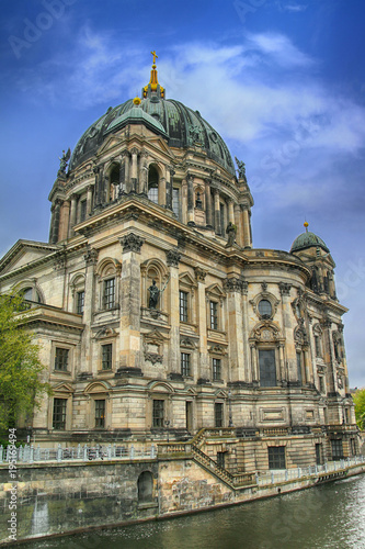 Keuken foto achterwand Berlijn Germany. Berlin. The Cathedral on the banks of the Spree River
