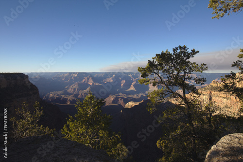 Foto op Canvas Zwart Grand Canyon