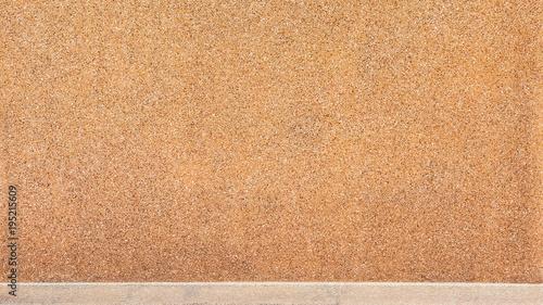 Foto op Canvas Stenen brown stone wall texture - background