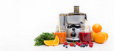 Preparing juice from fresh fruits and vegetables