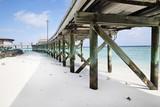 Maldives resort pier