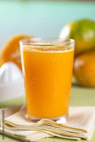 Poster Sap suco de tangerina