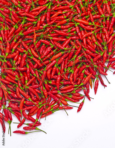 Deurstickers Hot chili peppers pimentas