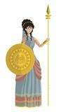 minerva athena goddess - 195277234