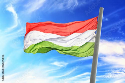Fotobehang Boedapest Hungarian flag